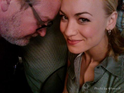 &quot;Tete a tete&quot; - Jeremiah with Yvonne Strahovski