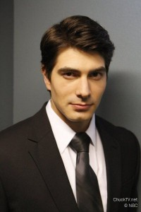 Brandon Routh guest stars on the new season of Chuck.