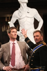 "Ryan McPartlin as Devon ""Captain Awesome"" Woodcomb, Armand Assante as Alejandro Goya"