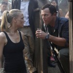Yvonne Strahovski and Adam Baldwin in Chuck vs. Phase Three
