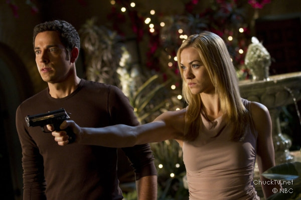 Zachary Levi and Yvonne Strahovski star in Chuck vs. the Leftovers