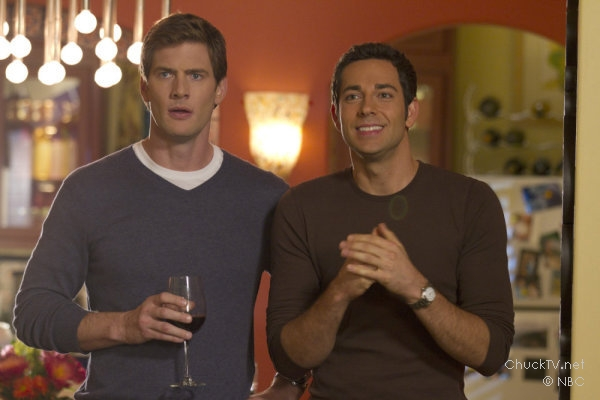Ryan McPartlin and Zachary Levi star in Chuck vs. the Leftovers