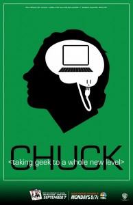 Chuck Comic Con 2010 fan poster