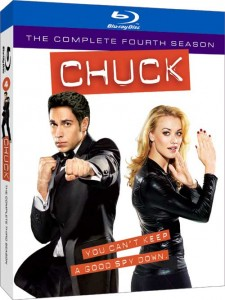 Chuck season 4 on Blu-ray and DVD September 6