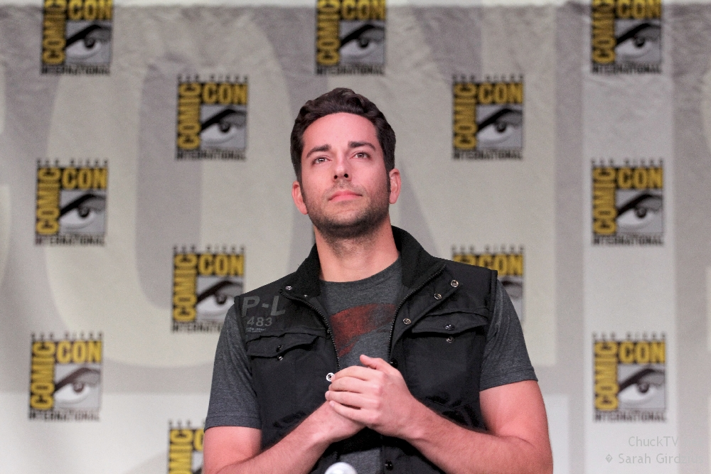 Zachary Levi Gains TV Wife Plus Scott Bakula Heads Back to NBC