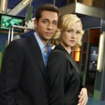 CHUCK -- Season:5 -- Pictured: (l-r) Zachary Levi as Chuck Bartowski, Yvonne Strahovski as Sarah Walker -- Photo by: Mitchell Haaseth