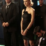 Adam Baldwin and Yvonne Strahovski in Chuck season 5 premiere