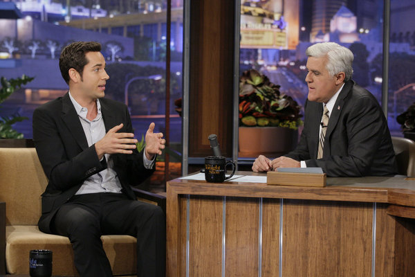 VIDEO: Zachary Levi on The Tonight Show With Jay Leno