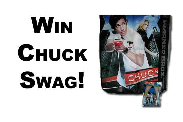 Enter to Win a Chuck Comic Con Bag & Comic Book