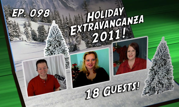 Chuck vs. the Podcast 98: Holiday Podcast 2011 – 18 Guests!