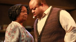 "Mark Christopher Lawrence earns rave reviews for his performance in ""A Raisin in the Sun""."