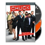 Chuck season 5 DVD front cover