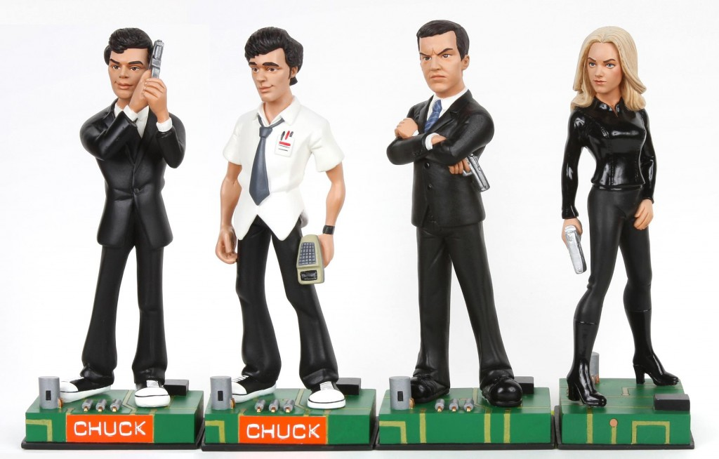 Chuck Figurines Available for Pre-Order