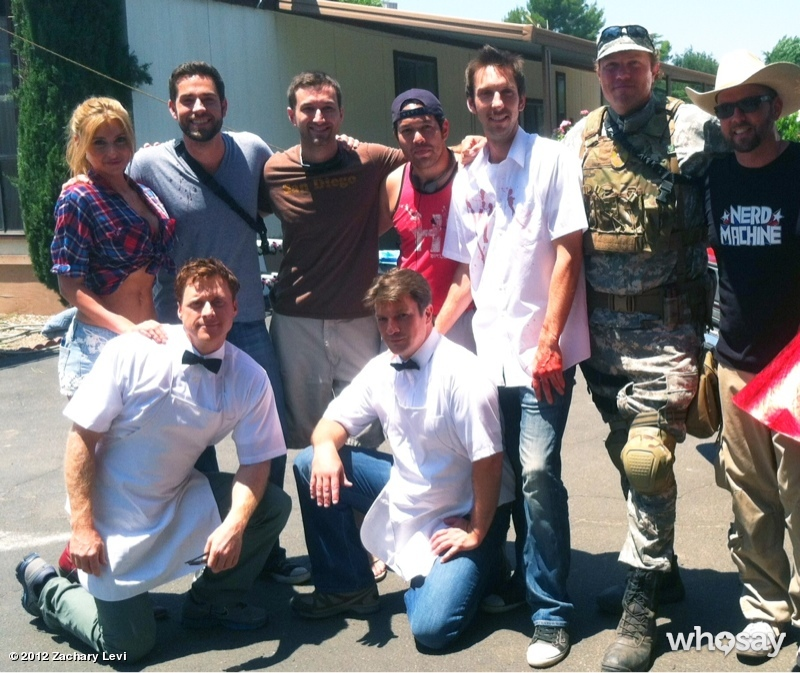 Zachary Levi, Adam Baldwin Star in TRAILER PARK HEROES for The Nerd Machine