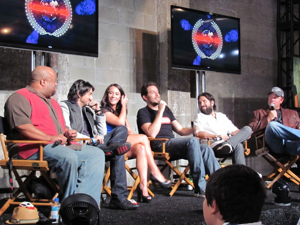 COMIC CON 2012: NerdHQ Chuck Panel (#2)