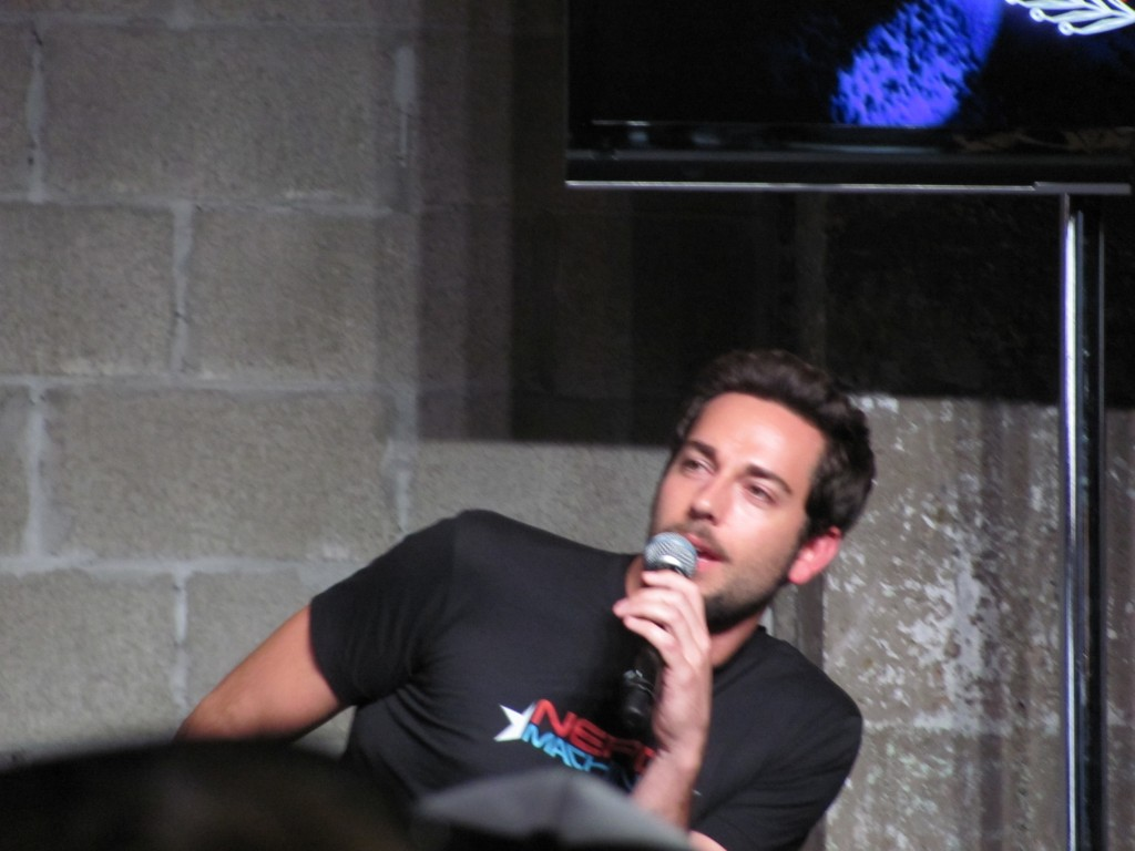 COMIC CON 2012: Nerd HQ panel with Zachary Levi