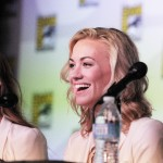 Yvonne Strahovski on the Dexter panel at Comic Con 2012