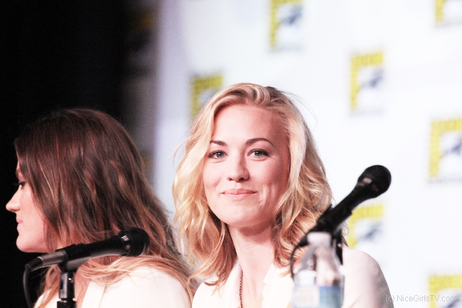 Yvonne Strahovski Tries Not to Tell Us Anything About Her Role on DEXTER {PHOTOS}