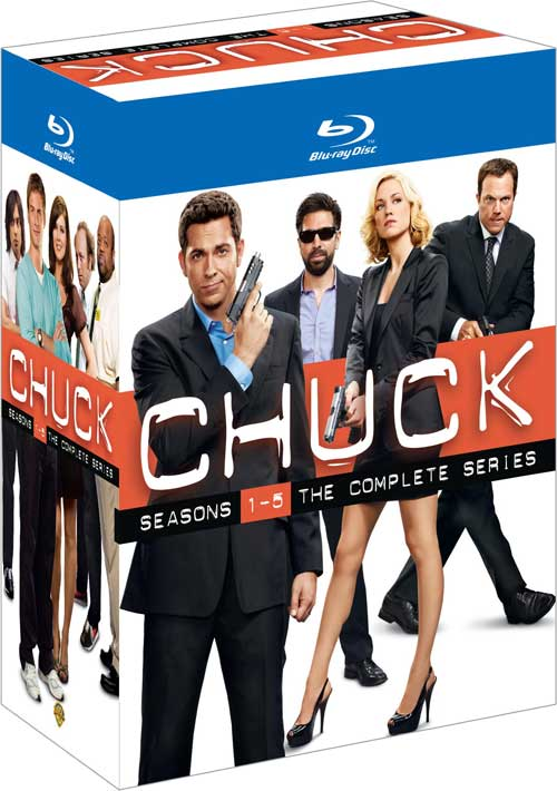 Chuck the Complete Series Coming to DVD & Blu-ray October 30