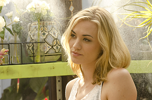 Yvonne Strahovski on Dexter