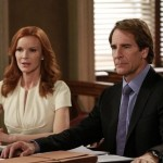 Scott Bakula with Marcia Cross in Desperate Housewives