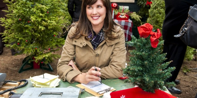 Sarah Lancaster Charms in 'Fir Crazy' for Hallmark