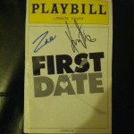 My Playbill, signed by Zac and Krysta