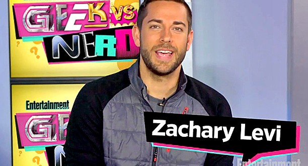 Watch Zachary Levi Take the Inaugural Geek vs. Nerd Quiz