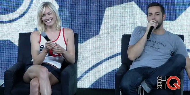 Watch: Yvonne Strahovski and Zachary Levi at Nerd HQ 2014
