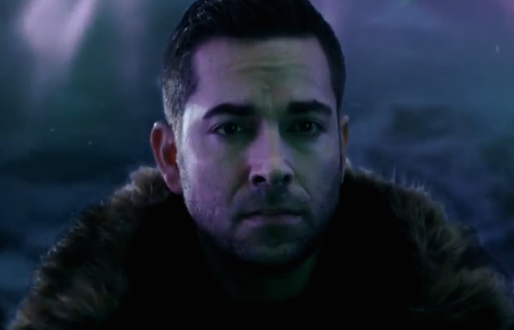 First Look at Zachary Levi in 'Heroes Reborn'