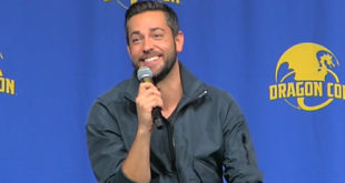 Zachary Levi at Dragon Con 2017