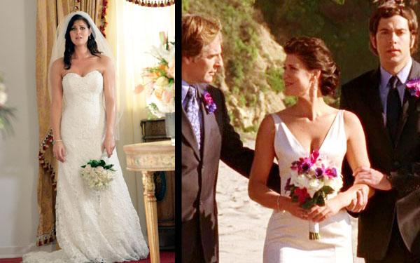 Ellie S Wedding Dresses From Chuck Season 2