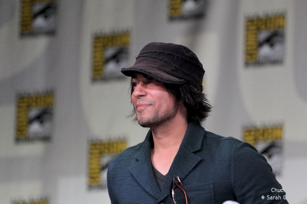 Vik Sahay at the Chuck Comic Con 2011 panel